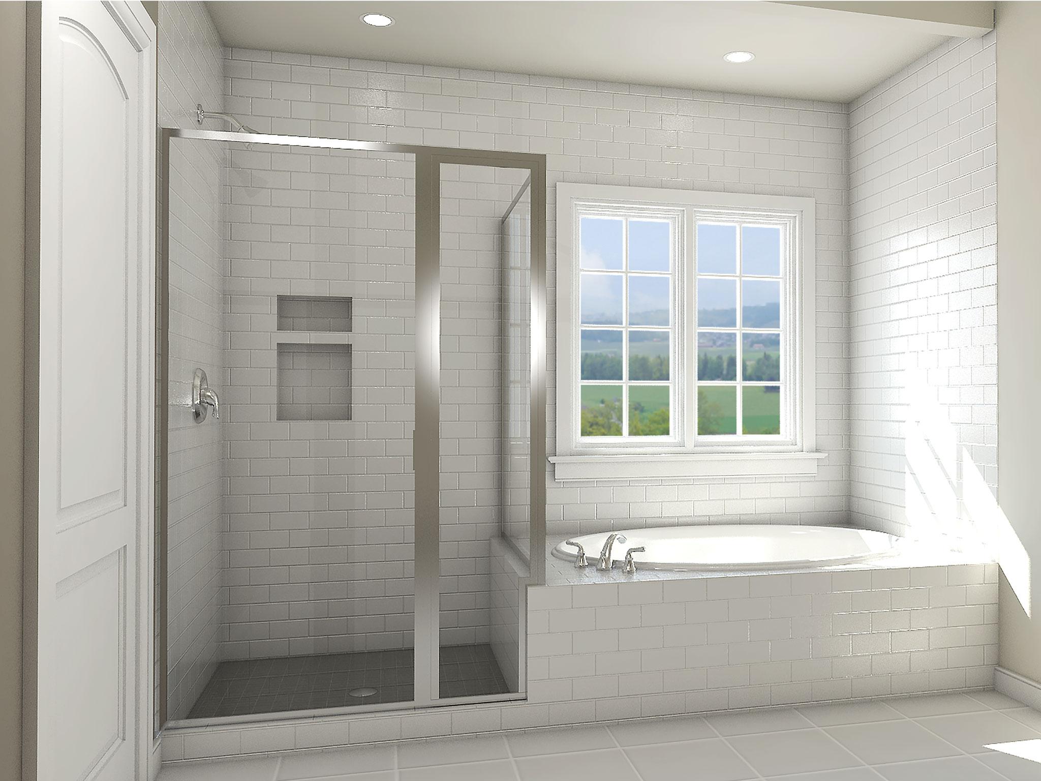 Oasis Owner's Bath Rendering